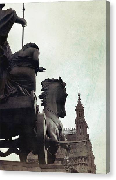 Queen Of The British Iceni Canvas Print by JAMART Photography