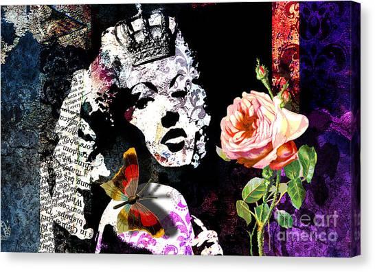 Queen Canvas Print by Ramneek Narang