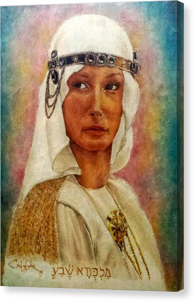 Queen Sheba  Canvas Print