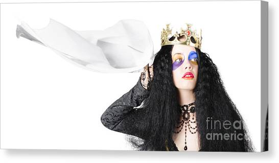 Submission Canvas Print - Queen Waving White Flag by Jorgo Photography - Wall Art Gallery
