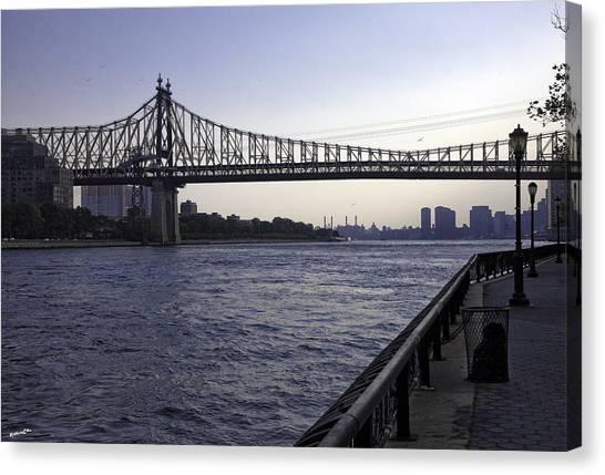 Queensboro Bridge - Manhattan Canvas Print