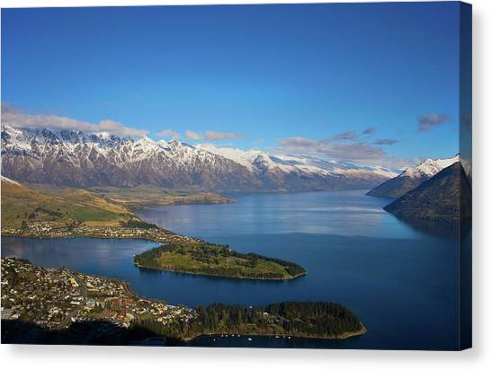 Queenstown Panoramic Canvas Print