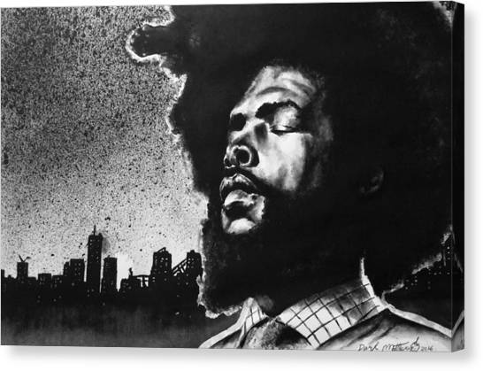 Questlove. Canvas Print