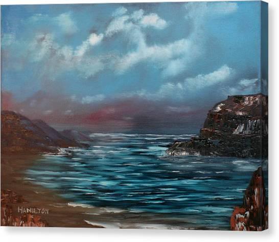 Quiet Bay Canvas Print