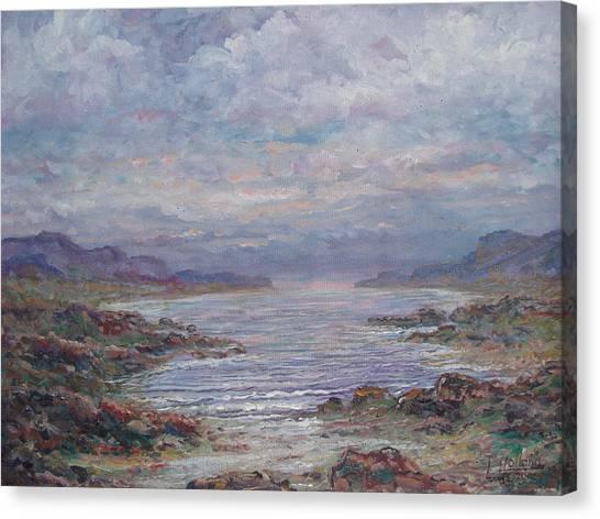 Quiet Bay. Canvas Print