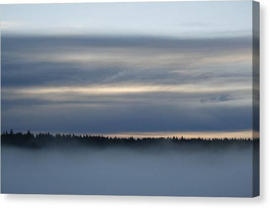 Quiet Before Dawn Canvas Print