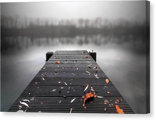 Quiet Lake Canvas Print