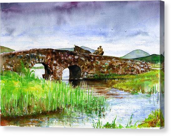 Quiet Man Bridge Ireland Canvas Print