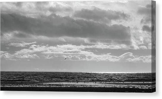 Quiet Shores After The Storm Canvas Print