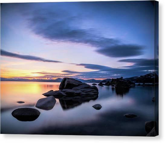 Quiet Sunset Canvas Print