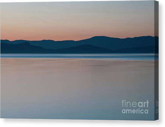 Quiet Tide Canvas Print