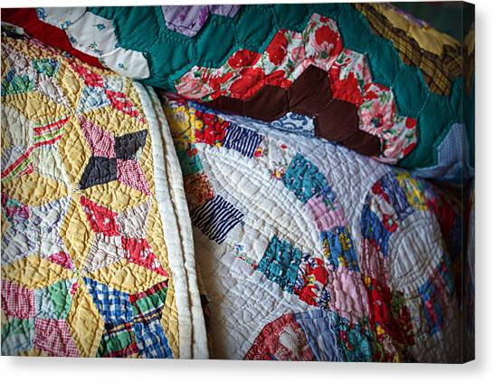 Quilted Comfort Canvas Print