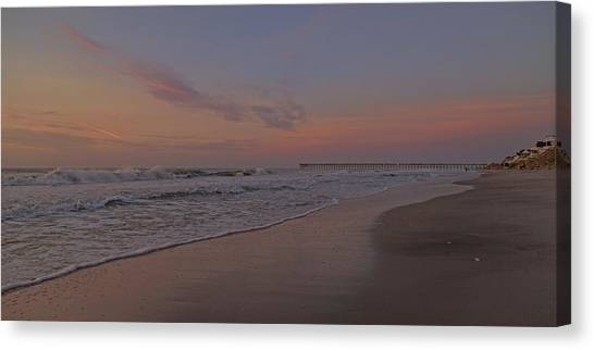Ocean Sunrises Canvas Print - Quit Your Day Job Just For You by Betsy Knapp