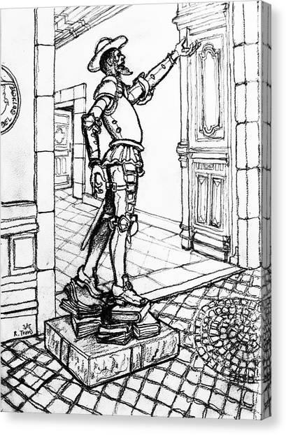 Canvas Print - Quixote Museum by Rich Travis