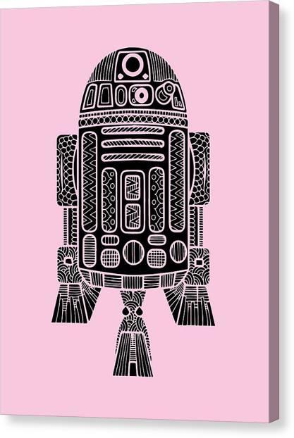 R2-d2 Canvas Print - R2 D2 - Star Wars Art by Studio Grafiikka