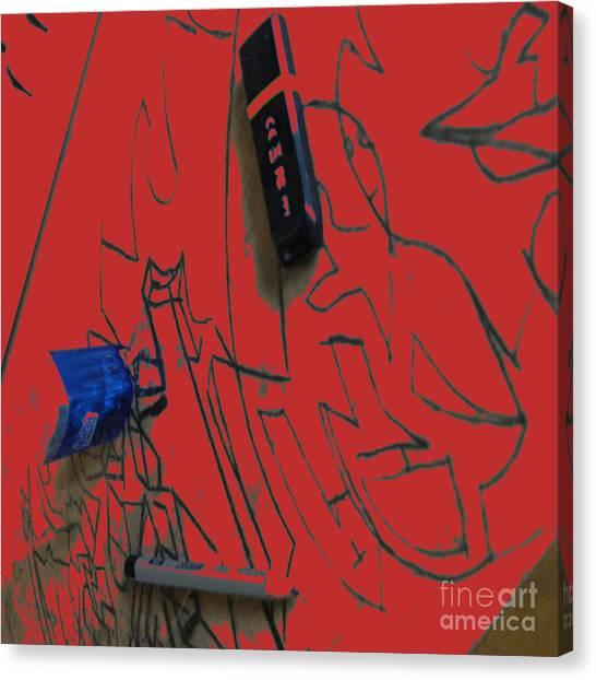 Tetris Canvas Print - R50992 by Alex Alexander Lepe'hin