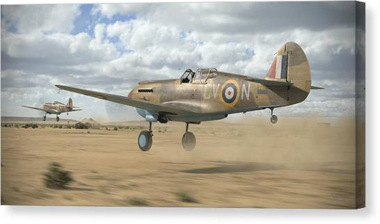 Canvas Print - Raaf Tomahawks by Robert Perry