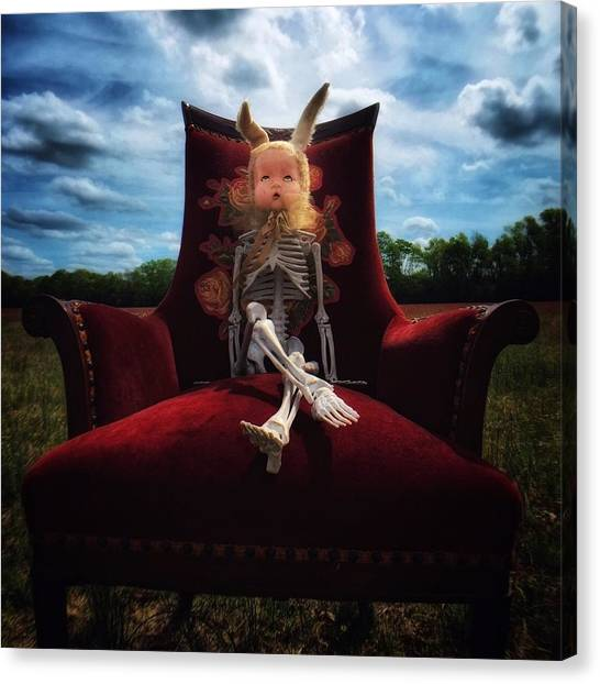 Horror Canvas Print - Wonder Land by Subject Dolly