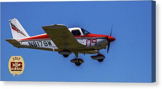 Race 179 Fly By Canvas Print