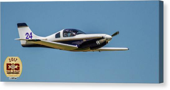 Race 24 Fly By Canvas Print