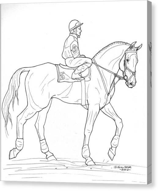 Thoroughbred Racing Canvas Prints Page 30 Of 31