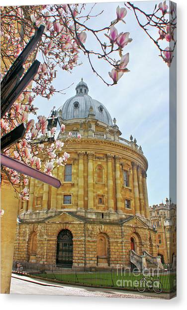 Radcliffe Camera Bodleian Library Oxford  Canvas Print