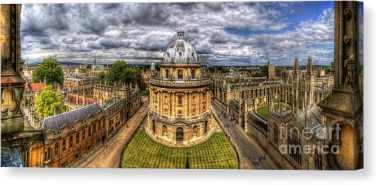 Radcliffe Camera Panorama Canvas Print