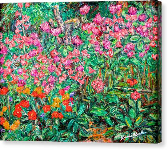 Radford Flower Garden Canvas Print