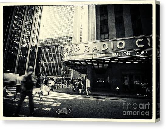 Radio City Music Hall Manhattan New York City Canvas Print