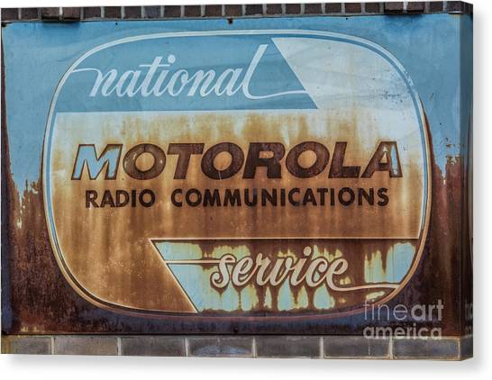 Radio Communications Canvas Print