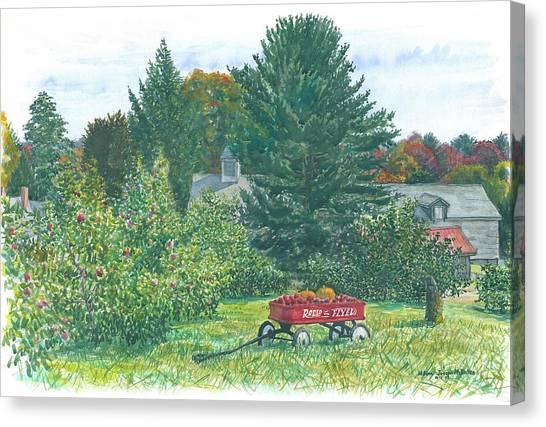 Radio Flyer Shelburne Farm Canvas Print