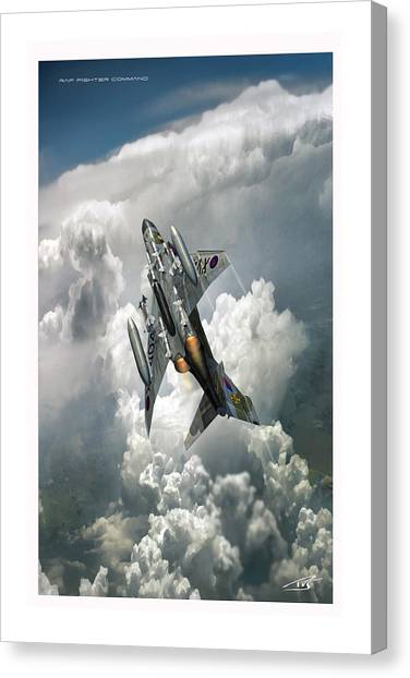 Iraq Canvas Print - Raf Fighter Command by Peter Van Stigt