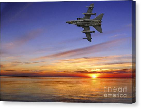 Airplanes Canvas Print - Raf Tornado Gr4 by Smart Aviation