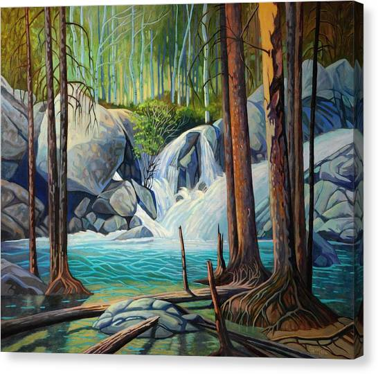 Raging Solitude Canvas Print