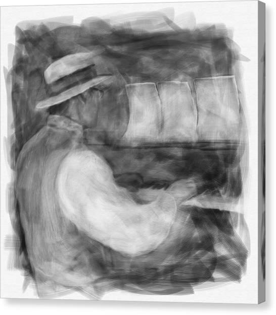 Ragtime Blues Canvas Print