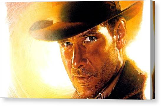 Raiders Of The Lost Ark Canvas Print - Raiders Of The Lost Ark by Meggi Andrew