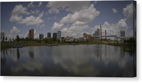 Railroad Park View Canvas Print