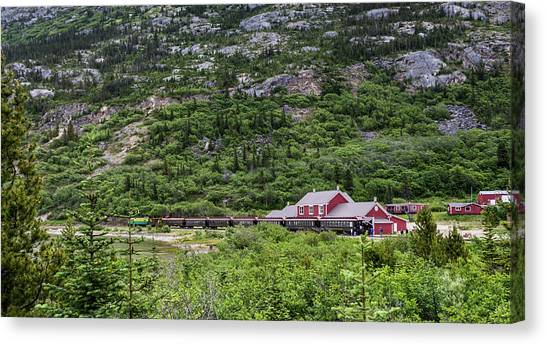 Railroad To The Yukon Canvas Print