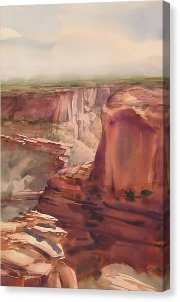 Rain And Shine Canvas Print by Frank LaLumia