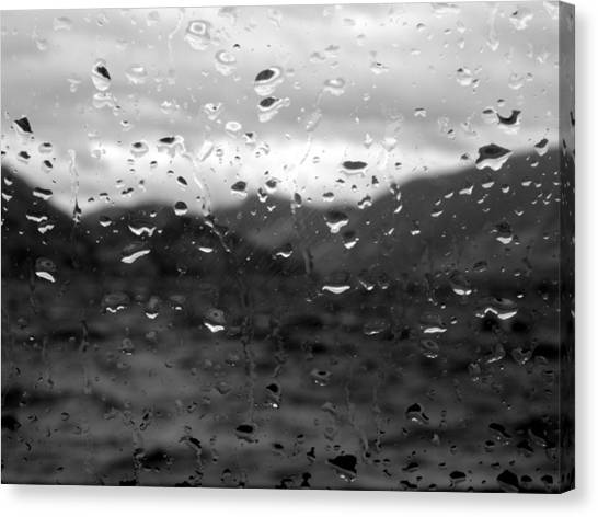 Rain And Wind Canvas Print