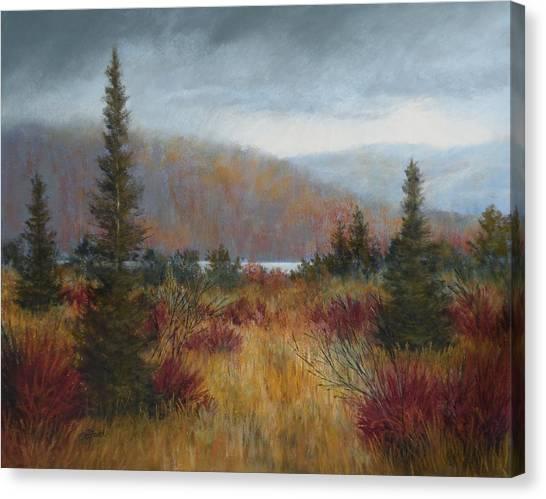 Rain Before The Snow Canvas Print by Paula Ann Ford