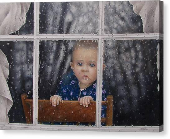 Rain Check Canvas Print