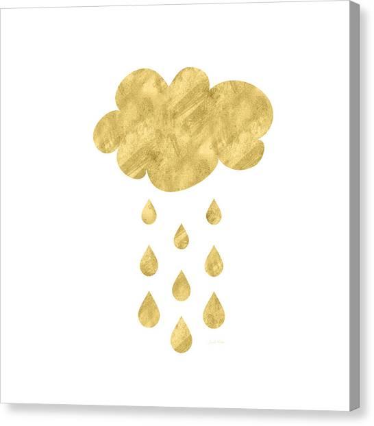 Storm Clouds Canvas Print - Rain Cloud- Art By Linda Woods by Linda Woods
