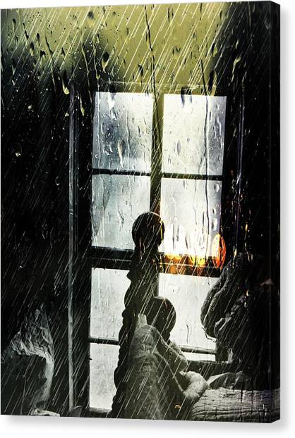 Rain In My Heart Canvas Print