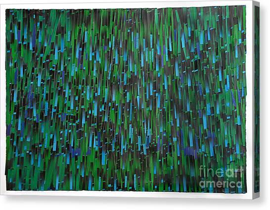 Rain Canvas Print by Ken Falana