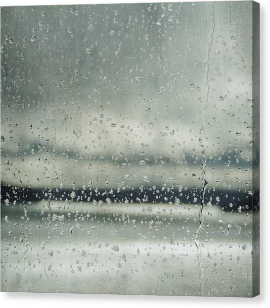 Rain Layers Canvas Print