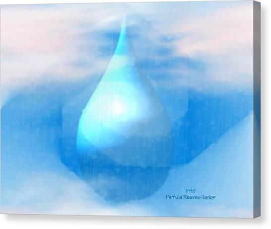 Canvas Print - Rain by Pamula Reeves-Barker