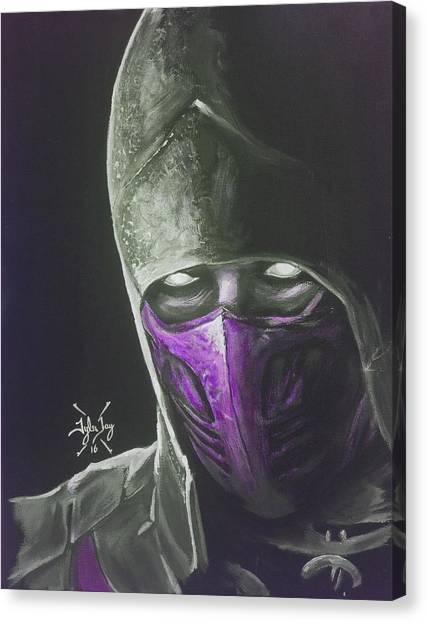 Mortal Kombat Canvas Print - Rain by Tyler Haddox