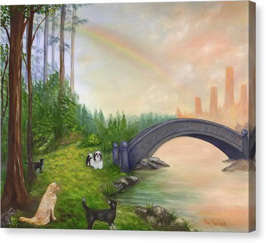 Canvas Print - Rainbow Bridge by Anne Kushnick
