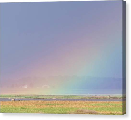 Rainbow Close Up Canvas Print